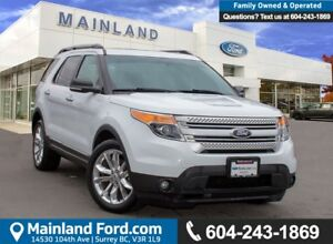 2014 Ford Explorer XLT LOW KMS, ACCIDENT FREE, BC LOCAL