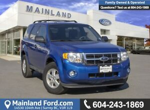 2012 Ford Escape XLT *LOCALLY DRIVEN*