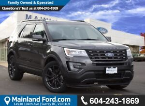 2017 Ford Explorer XLT NO ACCIDENTS, LOCAL BC, LOW KMS