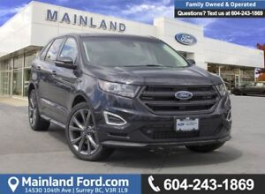 2017 Ford Edge Sport *ACCIDENT FREE* *LOCALLY DRIVEN*