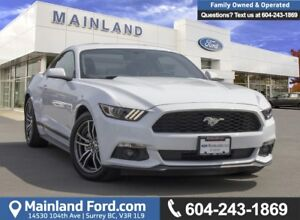 2017 Ford Mustang EcoBoost LOW KMS, ACCIDENT FREE