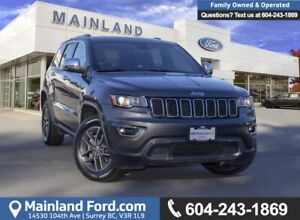 2017 Jeep Grand Cherokee Limited *ACCIDENT FREE* *LOCALLY DRI...