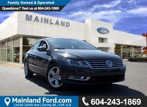 2015 Volkswagen CC Sportline LOW KMS, NO ACCIDENTS