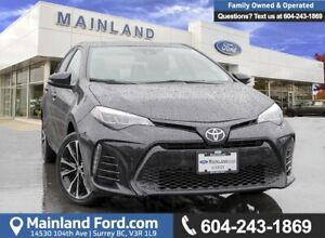 2017 Toyota Corolla SE ***LOW KMS, BC LOCAL***