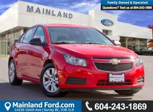 2014 Chevrolet Cruze 2LS ACCIDENT FREE, LOW KMS