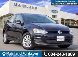 2015 Volkswagen Golf 1.8 TSI Trendline LOW KMS, BC LOCAL