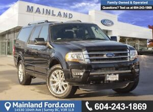 2017 Ford Expedition Max Limited ACCIDENT FREE, LOCALLY DRIVE...