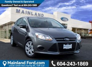 2014 Ford Focus SE NO ACCIDENTS, LOCAL, LOW KMS