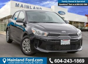 2018 Kia Rio5 LX+ ACCIDENT FREE, BC LOCAL, LOW KMS