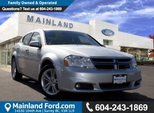 2011 Dodge Avenger SXT LOW KMS,  LOCAL