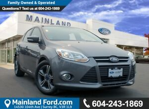 2014 Ford Focus SE LOW KMS, NO ACCIDENTS