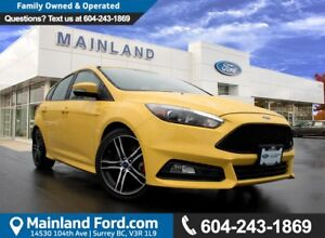 2017 Ford Focus ST VERY LOW KM'S NO ACCIDENTS
