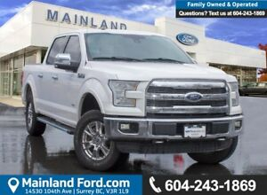 2015 Ford F-150 Lariat BC LOCAL, LOW KMS