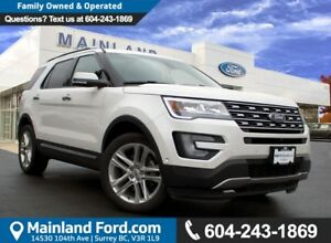 2017 Ford Explorer Limited LOW KMS, ACCIDENT FREE