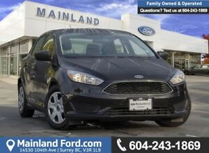 2015 Ford Focus S ACCIDENT FREE, BC LOCAL, LOW KMS