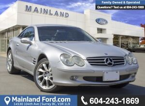 2003 Mercedes-Benz SL- CLASS SL500 LOW KMS