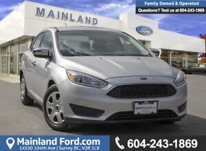 2017 Ford Focus S ***LOCALLY DRIVEN***