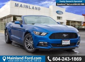 2017 Ford Mustang EcoBoost Premium LOW KMS, ACCIDENT FREE, BC...