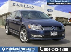 2015 Volkswagen Passat 1.8 TSI Highline *ACCIDENT FREE* *LOCA...