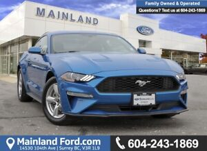 2019 Ford Mustang EcoBoost LOW KMS, ACCIDENT FREE, BC LOCAL