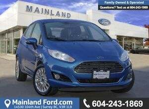 2015 Ford Fiesta Titanium *LOCALLY DRIVEN*