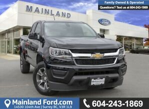 2016 Chevrolet Colorado WT ACCIDENT FREE, BC LOCAL, LOW KMS