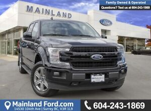 2018 Ford F-150 Lariat LOW KMS, ACCIDENT FREE, BC LOCAL