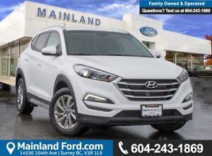 2017 Hyundai Tucson ACCIDENT FREE, BC LOCAL, LOW KMS