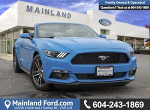 2017 Ford Mustang EcoBoost Premium ACCIDENT FREE, BC LOCAL, E...