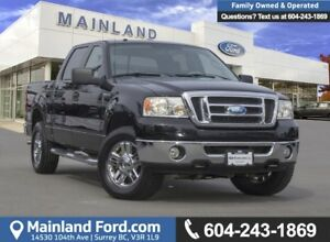 2008 Ford F-150 XLT BC LOCAL, LOW KMS