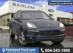 2014 Porsche Cayenne DIESEL *LOCALLY DRIVEN*