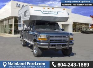 1997 Ford F-250 HD XL *WITH CAMPER*
