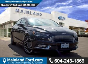 2017 Ford Fusion Titanium LOW KMS, NO ACCIDENTS, LOCAL