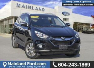 2015 Hyundai Tucson Limited *ACCIDENT FREE* *LOCALLY DRIVEN*