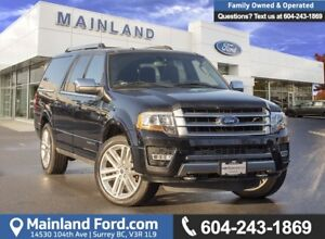 2017 Ford Expedition Max Platinum ACCIDENT FREE, LOCALLY DRIV...