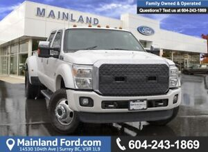 2016 Ford F-350 Lariat ***DUAL REAR WHEEL - PLATINUM PACKAGE***