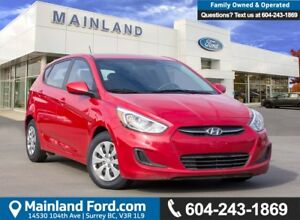 2015 Hyundai Accent GL LOW KMS, BC LOCAL