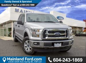 2015 Ford F-150 XLT EXTREMELY LOW KMS, BC VEHICLE