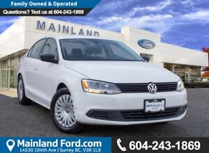 2013 Volkswagen Jetta 2.0L Trendline+ NO ACCIDENTS, BC VEHICL...