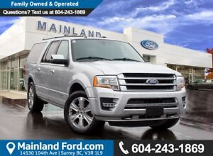 2017 Ford Expedition Max Platinum NO ACCIDENTS