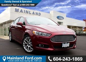 2013 Ford Fusion Titanium LOCAL, NO ACCIDENTS, LOW KM'S