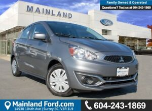 2017 Mitsubishi Mirage ES ACCIDENT FREE, BC LOCAL