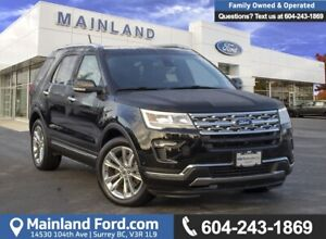 2018 Ford Explorer Limited ACCIDENT FREE, LOCALLY DRIVEN, EX-...