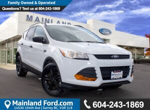 2014 Ford Escape S LOW KMS, NO ACCIDENTS, LOCAL