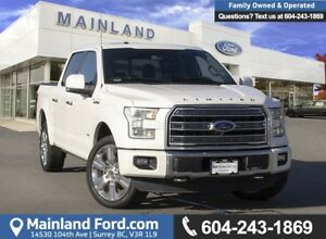 2016 Ford F-150 Limited *ACCIDENT FREE* * LOCALLY DRIVEN*