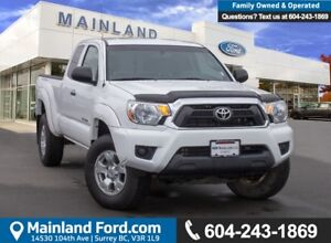 2013 Toyota Tacoma LOW KMS, BC LOCAL