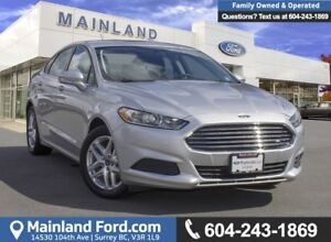 2013 Ford Fusion SE LOW KMS, ACCIDENT FREE