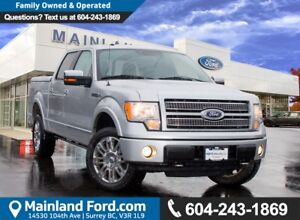 2010 Ford F-150 Lariat LOW KMS, LOCAL BC
