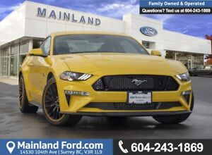 2018 Ford Mustang GT Premium *ACCIDENT FREE* * LOCALLY DRIVEN*
