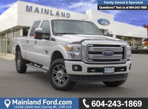 2016 Ford F-350 Lariat LOW KMS, BC LOCAL